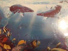 Whales NEW 1993 Worlds Most Difficult Jigsaw Puzzle 529 Pc Double Sided Edition