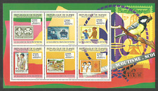 GUINEA 2009 BOY SCOUTS STAMPS BIRDS STAMP ON STAMP M/SHEET MNH