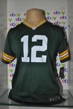 Nike Aaron Rodgers Green Bay Packers Youth Green Game Jersey NWT
