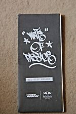 Write of passage graffiti street art show brochure graffiti New York