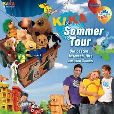 Schöne CD – KiKa Kinderkanal -   Sommertour- Die Mitmach-Hits aus den Shows