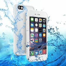 DRY 360° Dust-proof Rubber Phone Case Waterproof White Cover For iPhone X