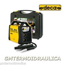 Saldatrice ad elettrodo DECA SIL 415 Generatore corrente 150 Amp Valigetta + kit