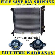 Radiator With Cap For Ford Mazda Fits Ranger B2300 2.0 2.3 L4 4Cyl 1062WC