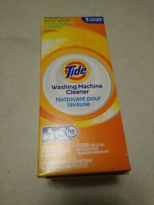 Tide Washing Machine Cleaner 3 Pouches  (WX10X10010) NEW