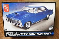 AMT 1966 CHEVY NOVA PRO STREET 1/25 SCALE MODEL KIT