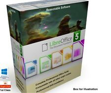 Libre Office 5 professional Office Software Suite for Microsoft Windows platform