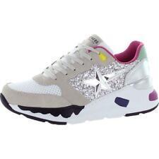 Skechers Womens Rovina-Star shoeters Gamuza Moda Tenis Zapatos BHFO 4835
