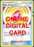 4X Fairy Charm 172/214 Unbroken Bonds Pokemon TCG Online Digital Card