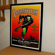 Frankenstein, Monster, Horror Movie, Mary Wollstonecraft Shelley, 18x24 POSTER