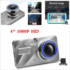 4inch 1080P Full HD Car DVR Video Dash Cam Camera Night Vision+ Rearview Camera