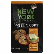 New York Style, Bagel Crsp Sesame, 7.2 Oz, (Pack of 12)