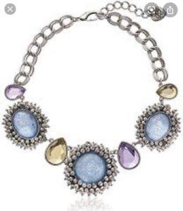 $145 Betsey Johnson   Stargazer Cabochon Necklace  B29