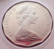 AUSTRALIA: 1972  50 CENTS PROOF COAT OF ARMS! 10,272 MADE