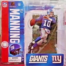 2006 McFarlane Football NFL Series 13 Eli Manning Blue #30 Action Figure Debut