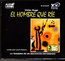 El Hombre Que Rie / The Man Who Laughs CD-Audio Spanish By Victor Hugo NEW