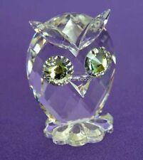 Swarovski Crystal Mini Hibou 010014 Comme neuf boxed RETRAITÉ RARE