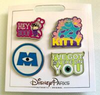NEW DISNEY PARKS MONSTERS INC. 4 PIN SET