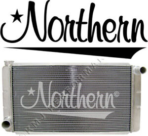 Northern 209630 Low Profile Ford Mopar Aluminum Racing Radiator 16x31 Universal