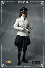 TOYS CITY German White Female Officer's Dress Suit Set 1/6 (NO Head & Body)