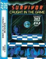 Survivor rare cassette tape mc Saudi Arabia 747 Caught In The Game