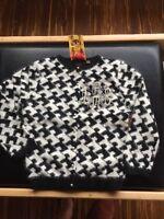 GWEN Stefani LAMB Rare 04 Cardigan sweater LAMBSTOOTH Cashmere MEDIUM  nWT