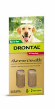 Drontal Allwormer Chewable Tablets for Large Dogs - 2 Count