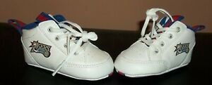 Reebok 76ers Size 1 Baby Sneakers Shoes