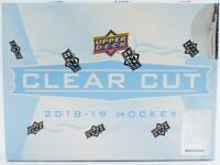 2018/19 UPPER DECK CLEAR CUT HOCKEY HOBBY BOX