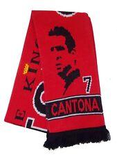 Eric Cantona - Eric The King Cantona Old Trafford United Scarf - Made in UK