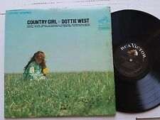 DOTTIE WEST - Country Girl 1968 RCA Victor Country (LP) Chet Atkins