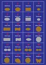 1000 BOLLINI - ETICHETTE CHIUDIPACCO PERSONALIZZATE ADESIVE SILVER/GOLD