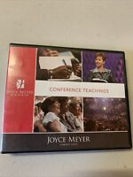 Joyce Meyer  CONFERENCE TEACHINGS 3 CDs faith preaching #119