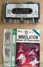 IMMOLATION - Dawn of Possession MC RARE 1'ST POLISH PRESS 1991
