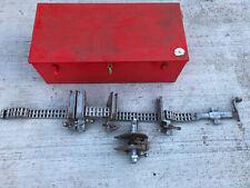 Mathey Dearman D232 Pipe Alignment Single Jackscrew Chain Clamp With 55 Chain