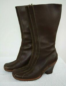 TIMBERLAND LEATHER WOMEN BOOTS SIZE 7