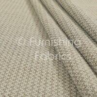 New Plains Jacquard Woven Textured Chenille Beige Furnishing Upholstery Fabrics