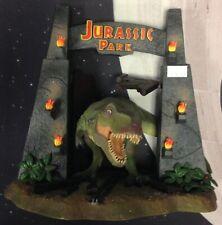 JURASSIC PARK T-Rex Figure Display - Limited Edition Universal Studios (2011)