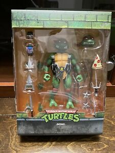 Super7 Teenage Mutant Ninja Turtles Ultimates Raphael TMNT Raph open .99c start