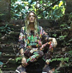 Adidas Originals X The Farm Company Frutaflora Windbreaker Hoodie 8UK Fall 2014