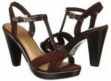 """Connie Zara Suede Platform Sandals 4.5""""heels 10 Med"""