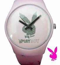 rosa Playboy Damen Armbanduhr ungetragen Neupreis 49