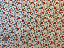 Makower Space Starburst Cotton Quilting Fabric FQ