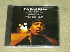 """The Bad Seed """"UHHNNH"""" (Would You Luh Me) (War & Peace) (For The Kids) New Rap CD"""