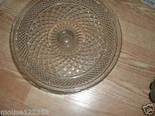Anchor Hocking Wexford Clear Round Cake Stand