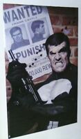 Original 1995 Punisher 34 by 22 Marvel Comics comic book art poster 191: 1990's