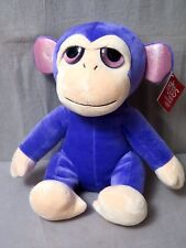 "Little Peeper's By Russ ""Big Eyes"" Purple MONKEY ""INDIGO"" Large/ SUPER CUTE NEW"