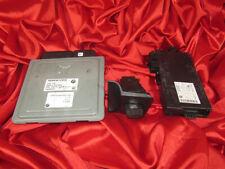 BMW E90 E91 E60 E61 3 5 series 2.5i N52 ENGINE ECU SET DME MSV70 CAS3 KEY LOCK
