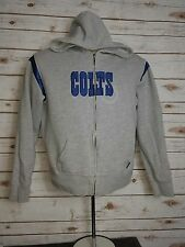 Indianapolis Colts Hoodie Ladies Large Full Zip Reebok NFL Womens Jacket