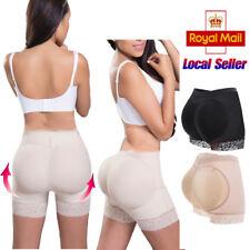 Women Padded Bum Pants Enhancer Body Shaper Butt Lifter Booty Boyshorts Fake ASS